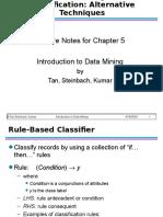 Chap5 Alternative Classification (1)