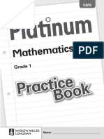 English Mathematics Grade 1 Practice Book
