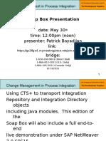 6 - Part 1 - SAP Development Soapbox - Presentation