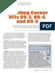 Detailing Corner RFIs 09-3, 09-4, And 09-5