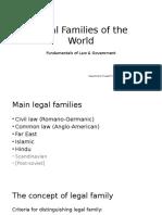 Pichlak Lecture4 Legal Families