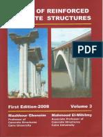 Design of Reinforced Concrete Structure - Volume 3 - DR. Mashhour A. Ghoneim.pdf