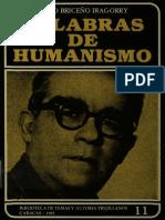 Palabras de Humanismo