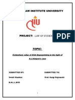 Final Draft Gargi Rajvanshi Evidence-Law