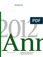 Heineken Holding NV 2012 Annual Report