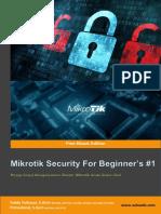 Buku Keamanan Mikrotik Seri 1 -V3