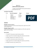 EEE Lab Manual