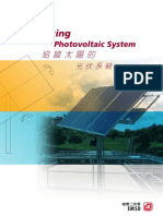 Sun Tracking Photovoltic System