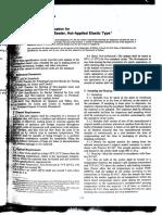 D1190-94 Spec for Elastic Concrete Joint Sealer