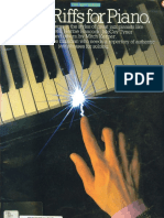 Jazz Riffs Piano Scr