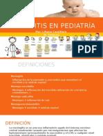 Meningitis en Pediatría