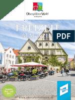 Oberpfälzer Wald Freizeitmagazin saisonstart 2017