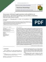 Dietary Supplementation With Probiotics_chickens_Eimeria
