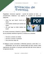 9. ORGANIZACIÓN DE EVENTOS
