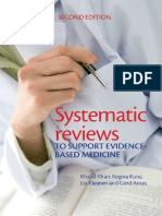 Systematic Reviews to Support Evidence-based Medicine (2nd Edition)