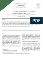 Analysis of Equivalent Antenna Based on FDTD Method