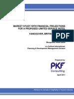 Appendix E - Hotel Market Study PKF 1