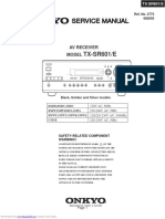 ONKIO Service Manual Txsr601e