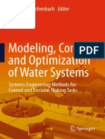 Modeling, Control and Optimization of Water Systems
