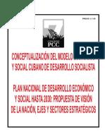 Conceptualizacion Modelo Economico Social Cubano Desarrollo Socialista