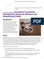 Examining Alternatives to Coercive Sanctions for Drug Law Offences and Drug-Related Crime _ RAND