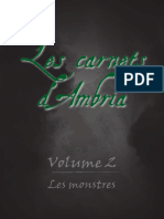 Les Carnets d'Ambria _Volume 2-23-02-2017
