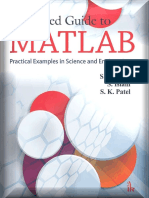 Advanced Guide to MATLAB_ Pract - S.N. Alam