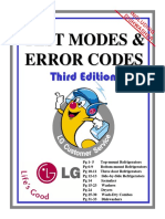LG Codes-3 Test Modes and Error Codes