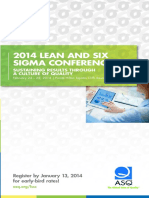 2014 lean sixsigma