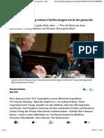 So Klein Hat Trump Seinen Chefstrategen Noch Nie Gemacht - Tagesanzeiger.ch