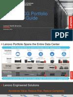 Lenovo Data Center Product Portfolio Presentation