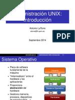01introduccion Unix 2014