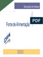Detalhes Técnicos Fonte Atx
