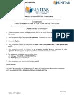 Assignment Seffective 1