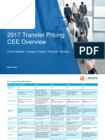 2017 Transfer Pricing - Central and Eastern Europe Overview