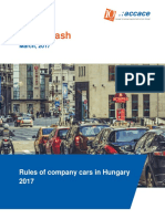 Rules of company cars in Hungary 2017 | News Flash