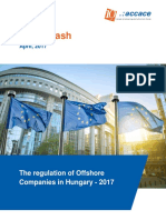 The regulation of Offshore Companies in Hungary, 2017