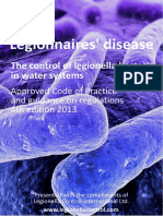 ACOP L8 4th Edition Compliments Legionella Control International