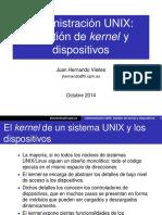 08gestion Kernel y Dispositivos Linux 2014