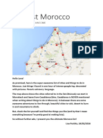 Morocco Ultimate List