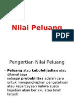 Nilai Peluang