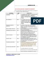 Cronologia Del Concepto de Riesgos (Trabajo Grupal)