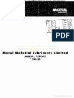Mafatlal Lubricants Limited 1998