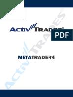 Manuale Per l'Utilizzo Della Piattaforma MetaTrader 4 (Versione Integrale)