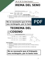 Teorema Del Seno y Cos