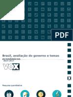 Pesquisa CUT VOX Abril 2017