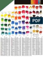 Archival A4 Colourchart