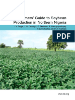 Farmers' Guide to Soybean Production in Northern Nigeria
