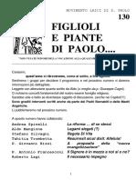 """FIGLIOLI E  PIANTE  DI  PAOLO. """"APRILE  2016 fpp 130"""