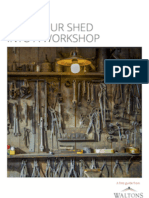 How to Turn Your Shed Into a Workshop - a free guide from Waltons